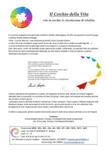 volantino - cerchio della vita 2